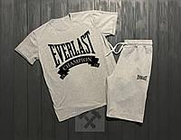 Комплект мужской шорты и футболка Everlast