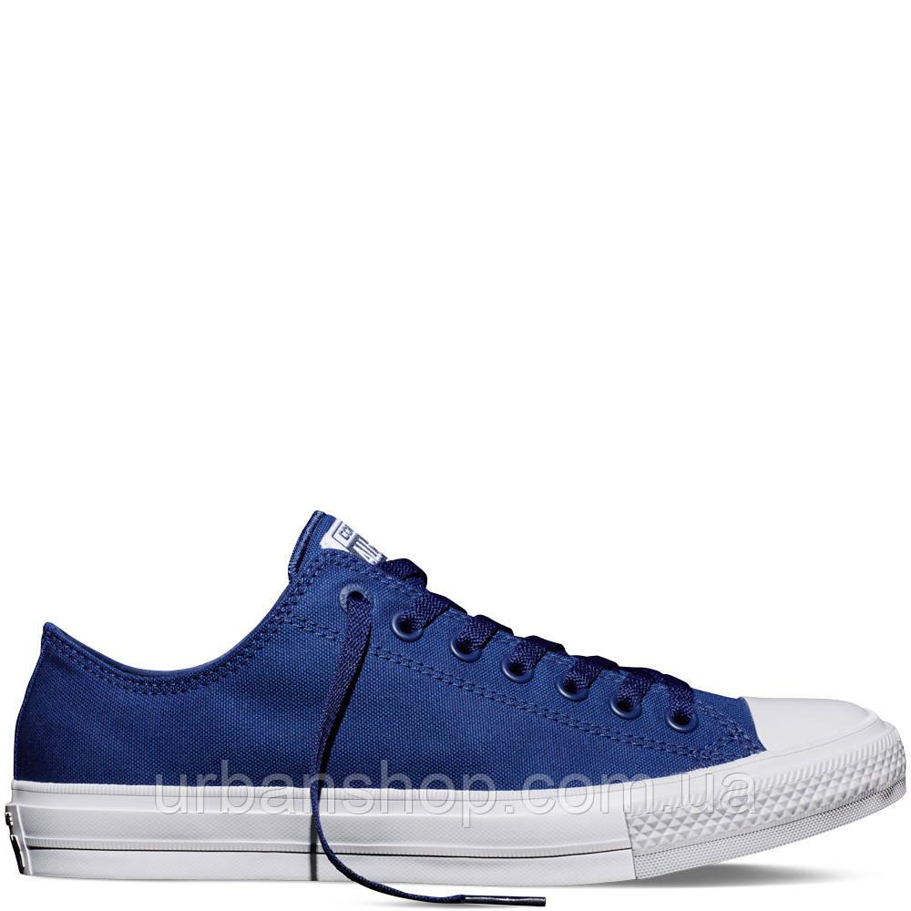 Купить Кеди Converse Chuck Taylor All Star II Low Sodalite Blue в ... c7c93d17ac426