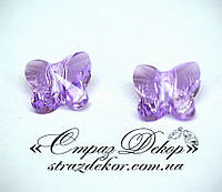 Хрустальная подвеска Бабочка 15мм Violet (фиолетовая)