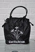 Спортивная сумка Adidas модель Р-2. (черный+белый). Лучшие цены!!!