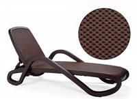 Лежак, шезлонг Alfa, Италия - шоколадный