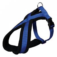 """Шлейка S-M """"Премиум Туринг"""" 40 - 60см/20мм, для собак, синий"""