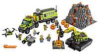 Набор Лего Сити База исследователей вулканов LEGO 60124 City Volcano Exploration Base