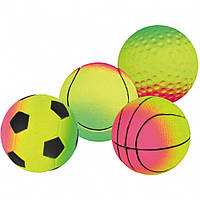 Мяч Trixie Toy Ball для собак резиновый, плавающий, 7 см