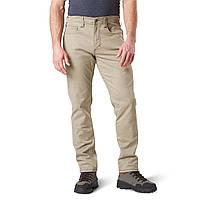 """Тактические брюки """"5.11 Defender-Flex Slim"""" (джинсовый крой) Stone"""