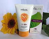 Hyalual набор: спрей Дейли ДеЛюкс и солнцезащитный крем SPF50
