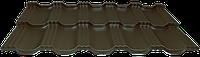 Модульная металлочерепица EGERIA Purex 0.5 Шоколадный