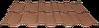 Модульная металлочерепица EGERIA Purex 0.5 Кирпичный