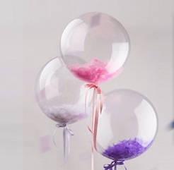 """Шар-сфера 3D Deco Bubble 18""""(45 см)  3 штуки набор"""