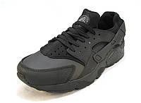 Кроссовки мужские  Nike Huarache черные (р.46)
