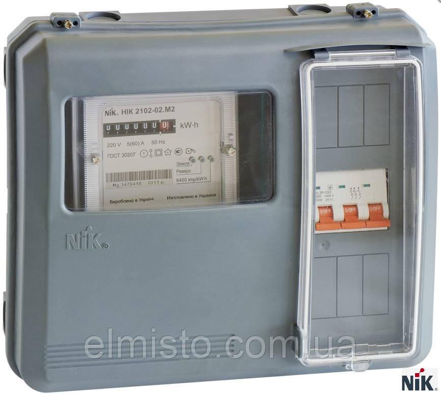 Шкаф учета НИК DOT-3.1 IP 54 универсальный для 1-ф. электросчетчиков