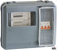 Шкаф учета НИК DOT-3.1 IP 54 универсальный под 1-ф. и 3-х ф. электросчетчики