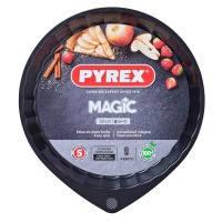 Форма pyrex magic мет.форма кругл д/пирога 30см вол.борт (mg30bn6)