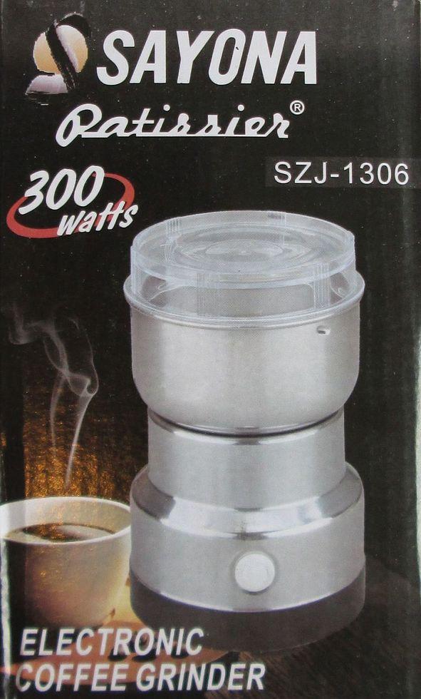 Кофемолка Sayona Szj-1306, 300Вт