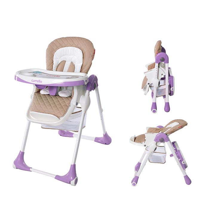 Стульчик для кормления Carrello Toffee CRL-9502 Фиолетовый