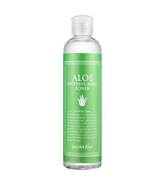 Тонер з экстарктом алое Secret Key Aloe Soothing Moist Toner