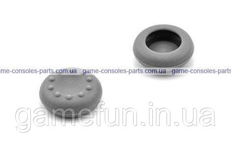 Cиликоновые накладки PS4/Xbox one на ручки аналогов 2шт (Серые)
