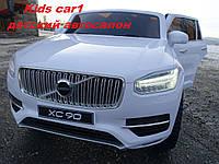 Детский электромобиль Volvo XC90  белый