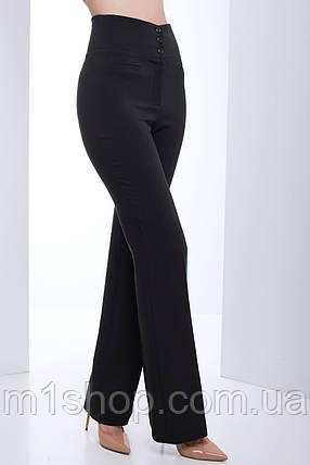 Женские расклешенные брюки с высокой талией (Ницца lzn), фото 2
