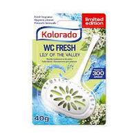 Гигиенический блок для унитаза WC Kolorado, 40 гр.,  ландыш
