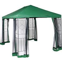 Садовый павильон с москитной сеткой DU171 3х4 м зеленый