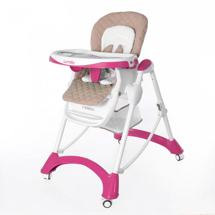Стульчик для кормления Carrello Caramel CRL-9501 Розовый