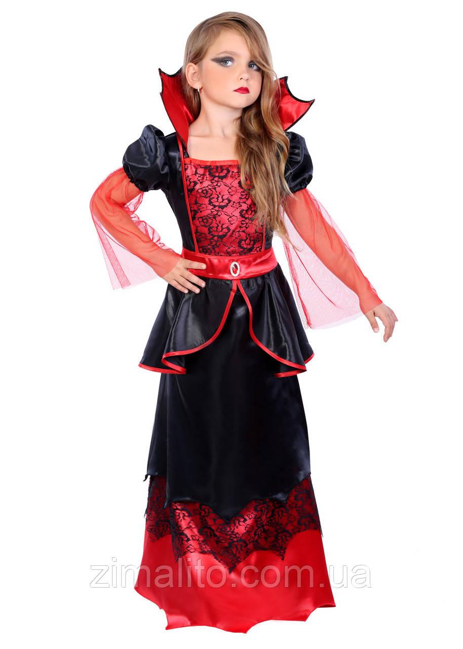 Вампирша  карнавальный костюм детский