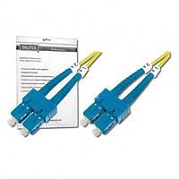 Оптический патч-корд DIGITUS SC/UPC-SC/UPC,9/125, OS2,duplex,2m