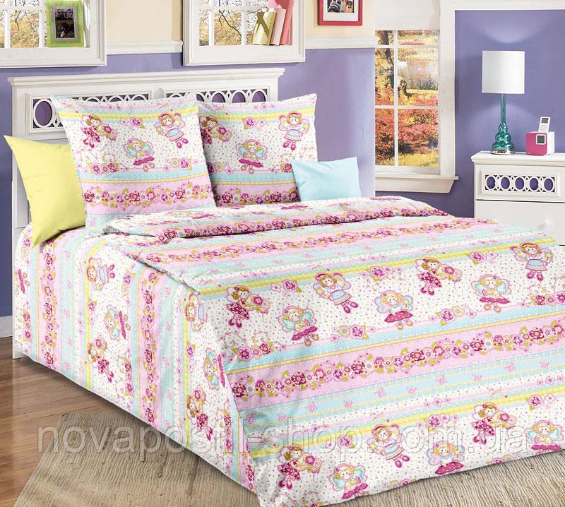 Ткань для детского постельного белья, бязь Агата