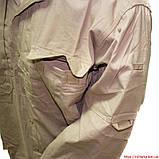 Рубашка тактическая длинный рукав хаки, фото 2