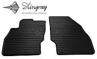 Резиновые коврики Stingray Стингрей Opel Corsa D 2006- Комплект из 2-х ковриков Черный в салон. Доставка по всей Украине. Оплата при получении