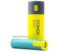Повербанк  внешний аккумулятор EE Power Bar Power Bank 2600