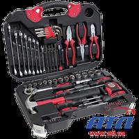 Набор ручного инструмента, 78 предметов, Cr-V сталь (PM3963)