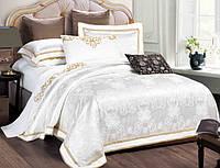 Комплект постельного белья  Bella Villa жаккард евро J-0010