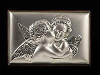 Картина Амур и Психея серебро 925°
