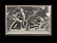 Картина серебряная Ангелочки