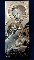 Икона серебряная Семейная