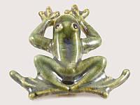 Магнит керамический Зеленая Лягушка