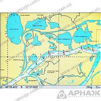 Карта Lowrance NAVIONICS GOLD р. ДНЕПР + Средиземное и Черное море