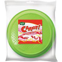 Набор тарелок Мелочи Жизни цветные 20.5 см 50 шт