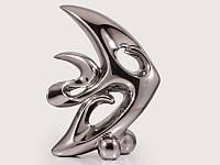 Статуэтка керамическая Рыбка серебристая