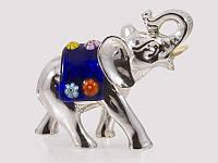 Статуэтка серебряная Слон