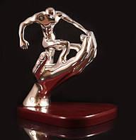 Статуэтка Стремление к победе серебро