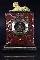 Часы золото натуральный камень Тигр