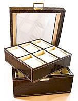 Шкатулка для часов и браслетов (на 6 пар)