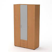 Шкаф-купе-6 в спальню 120х54х218 см. Цвет на выбор
