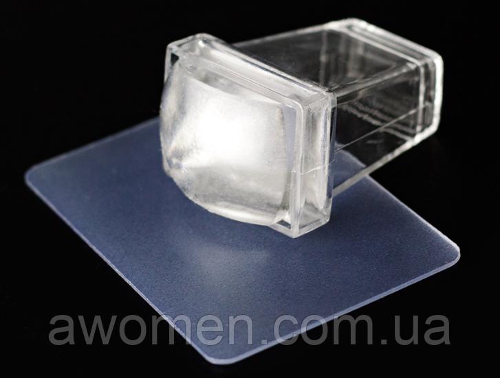 Штамп силиконовый для стемпинга