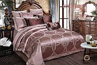 Комплект постельного белья  Bella Villa жаккард евро J-0017