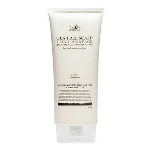 Маска-пилинг для кожи головы с чайным деревом La'dor Tea Tree Scalp Hair Pack