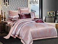 Комплект постельного белья  Bella Villa жаккард евро J-0020